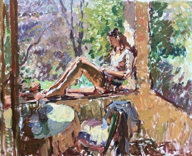 Ben Fenske Figurative Painting - Morning