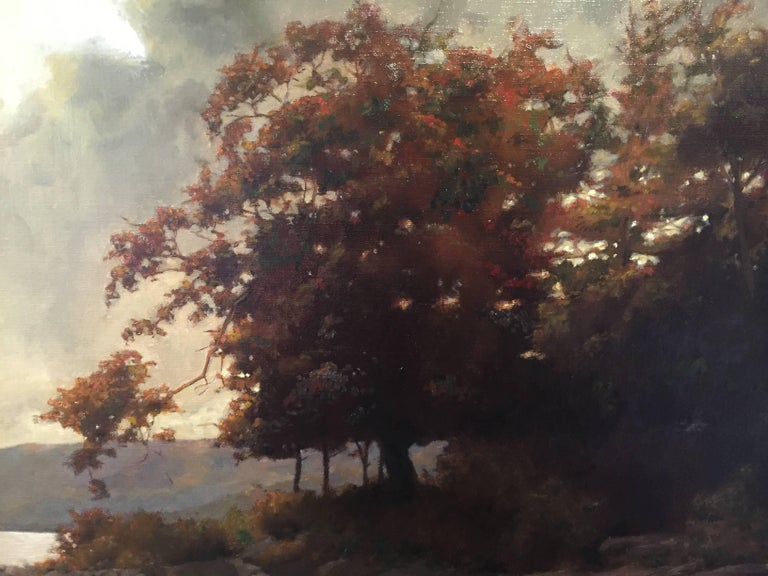 Jacob Collins Autumn Landscape Painting For Sale At 1stdibs