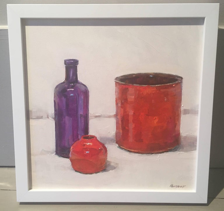 Ink Well Red - Painting by Beth Rundquist