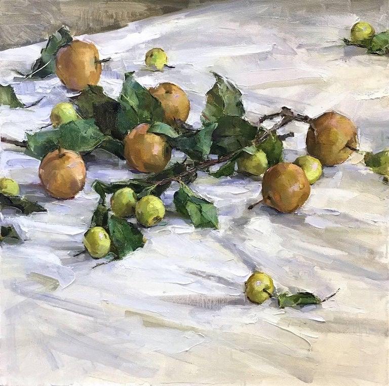 Beth Rundquist Still-Life Painting - Green Street