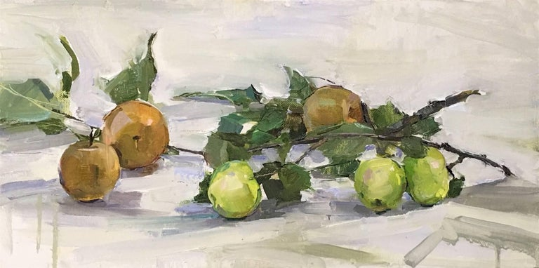 Beth Rundquist Still-Life Painting - Asian Pears