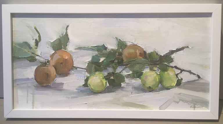 Asian Pears - Painting by Beth Rundquist