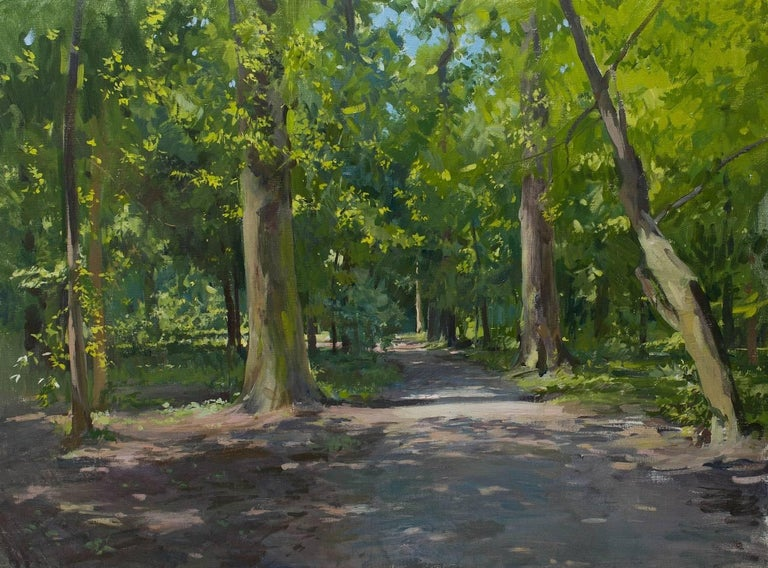 Marc Dalessio Landscape Painting - Path in Maksimir