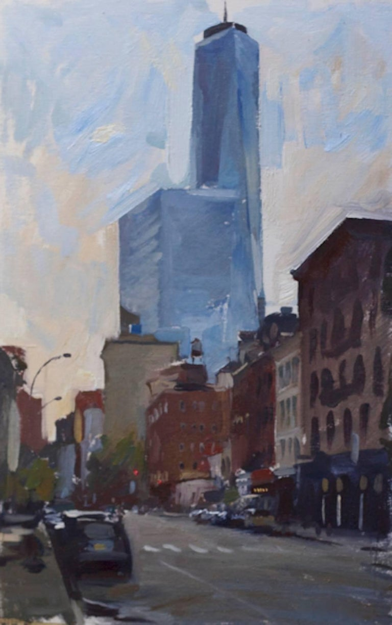 Marc Dalessio - Freedom Tower from West Broadway 1