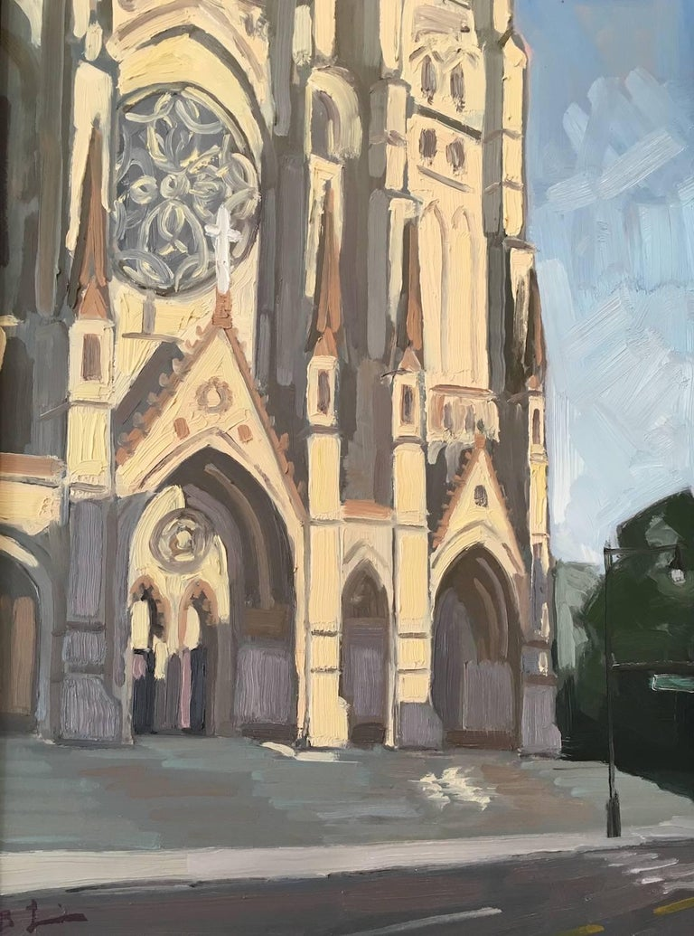 Benjamin Lussier Landscape Painting - Saint John the Divine