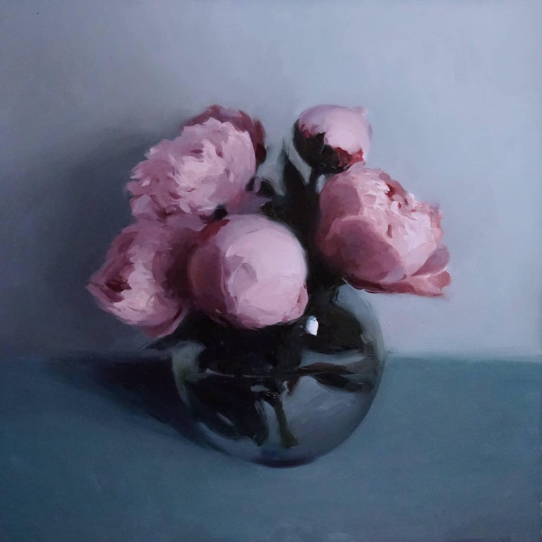 Stephen Bauman Still-Life Painting - Peonies