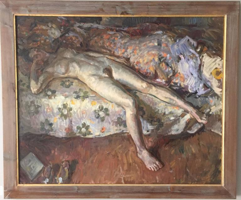 Floral Sheets - Painting by Ben Fenske