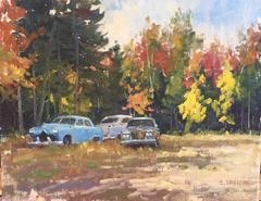 Autumn Old Cars
