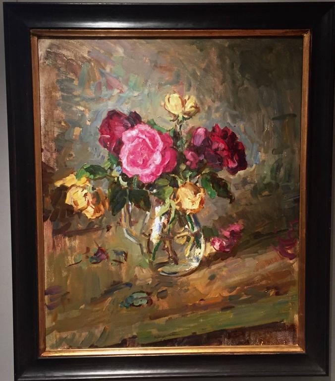 Roses - Painting by Ben Fenske