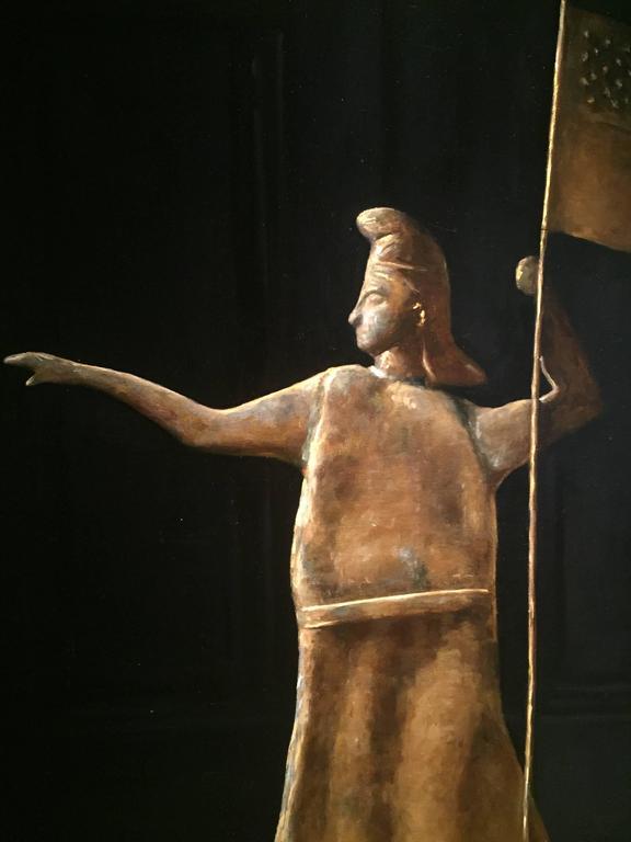 Goddess of Liberty Weathervane For Sale 4