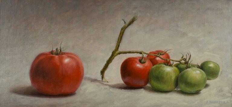 John Morfis Still-Life Painting - Branching Out