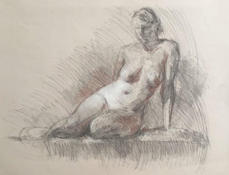 Nude Sketch - Art by Ben Fenske