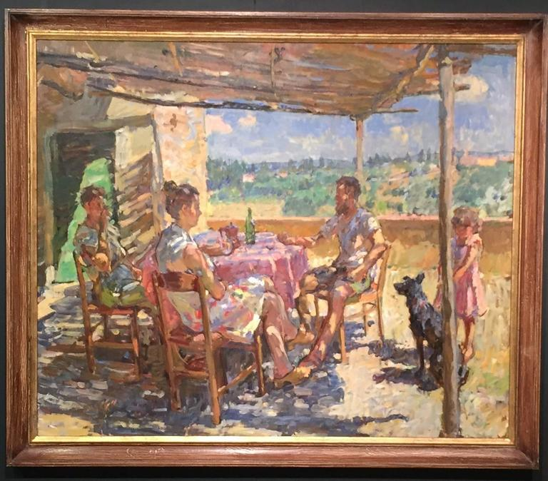 Summer Afternoon - Painting by Ben Fenske
