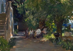 Marc Dalessio - Lunch in the Garden