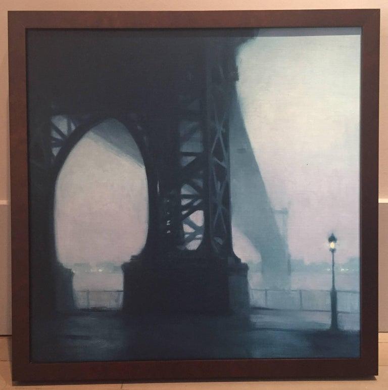 Rainy Day, Williamsburg Bridge For Sale 1