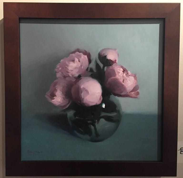 Peonies - Painting by Stephen Bauman