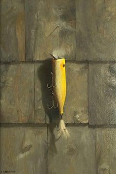 Yellow Plug on Cedar Shake