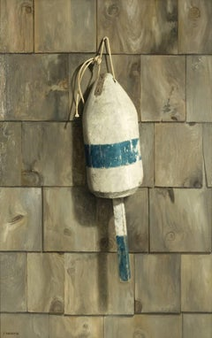 Old Wooden Buoy