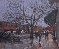 Rainy Dusk, Main Street