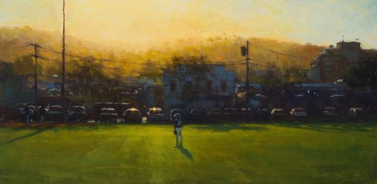 Carl Bretzke Landscape Painting - Hometown Hero