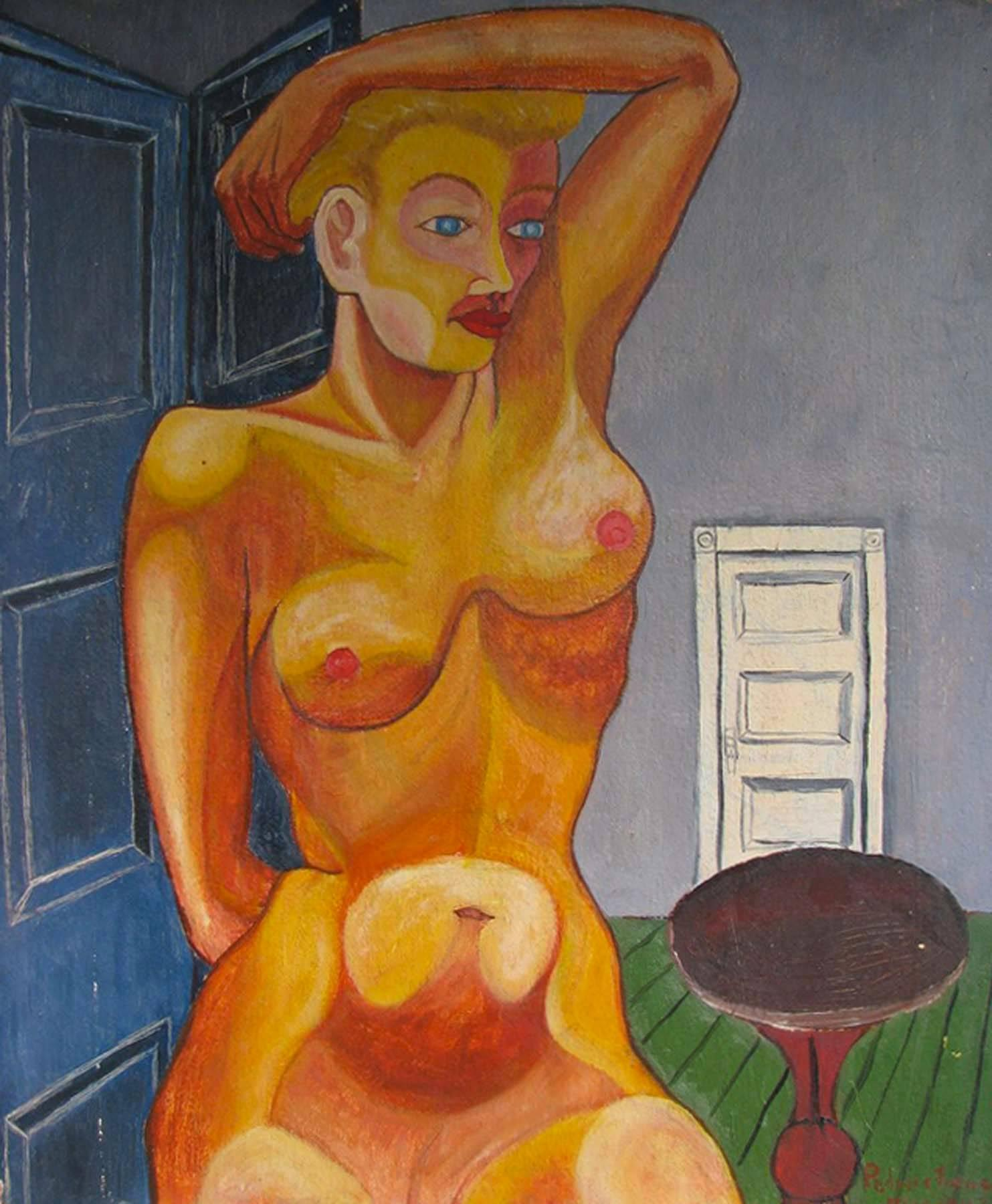 Nude in Room
