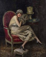 Woman with Muff