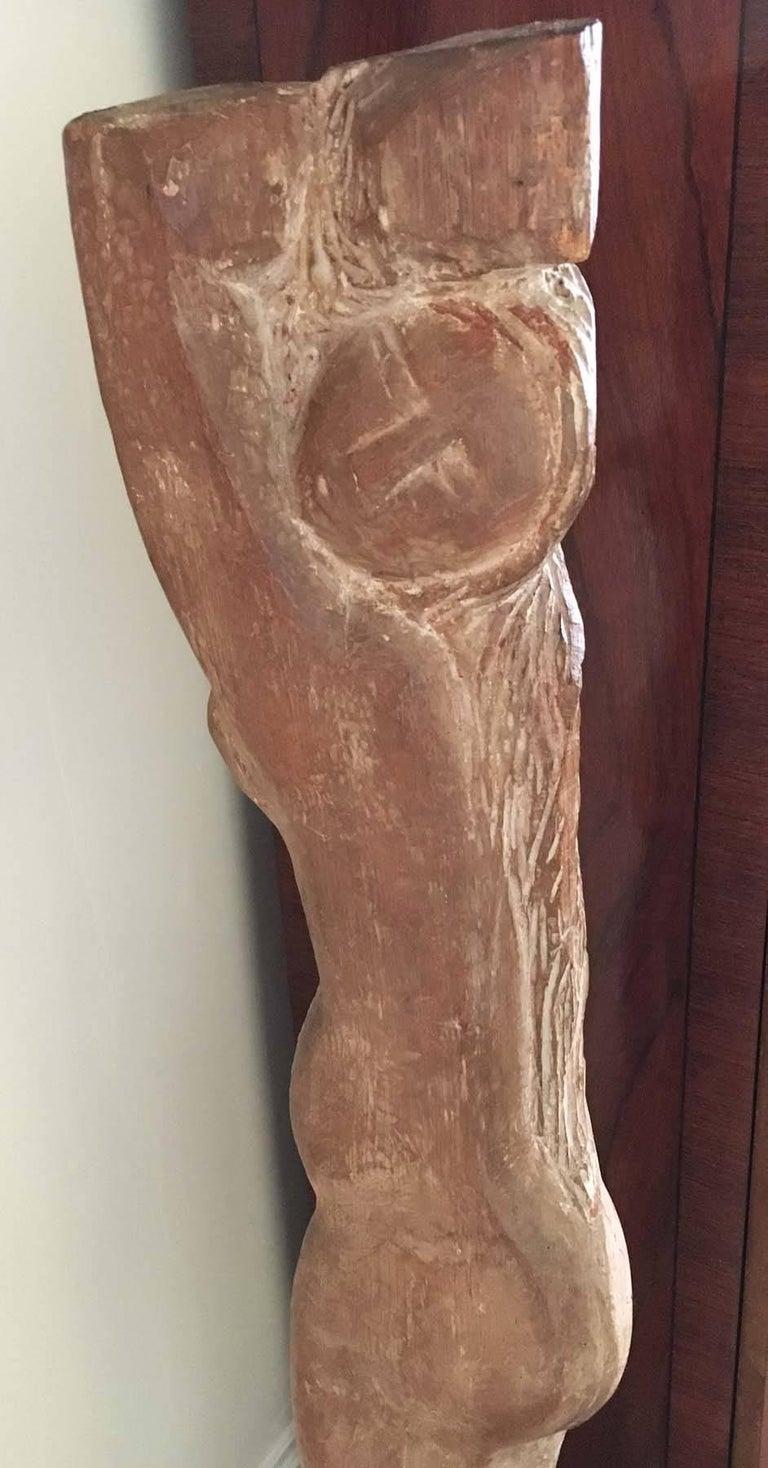Lorrie Goulet Figurative Sculpture - Standing Nude