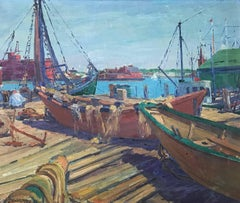 Dockside, Gloucester Harbor