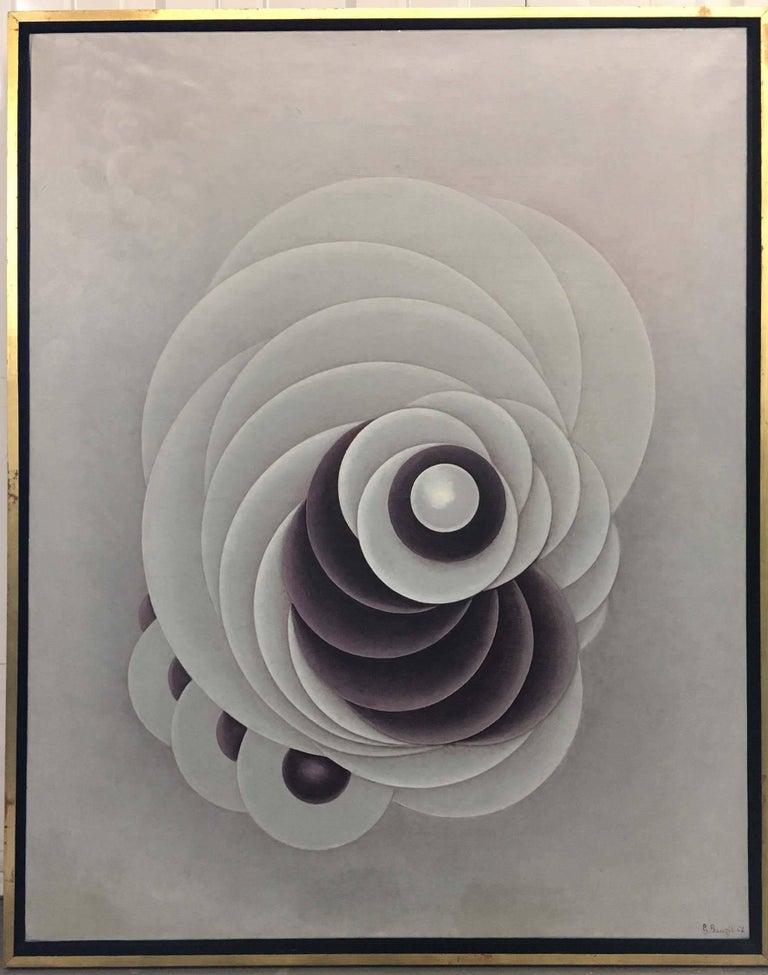 Gaby Bauzil Abstract Painting - Swirls