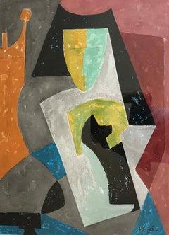 Cubist Portrai