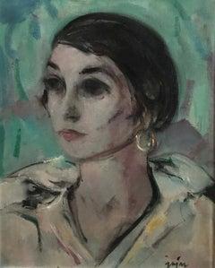 Art Deco Portrait