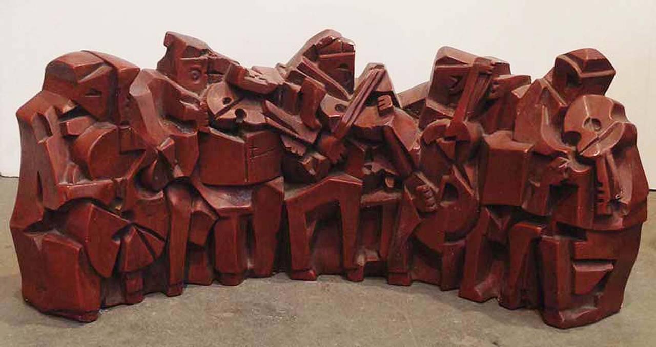 Austin Productions Figurative Sculpture - Jazz Band