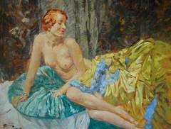 Art Deco Nude Paintings