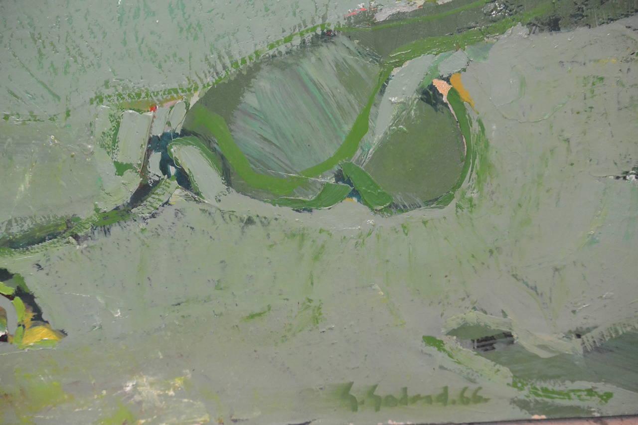 Gabriel godard paysage vert at 1stdibs for Paysage vert