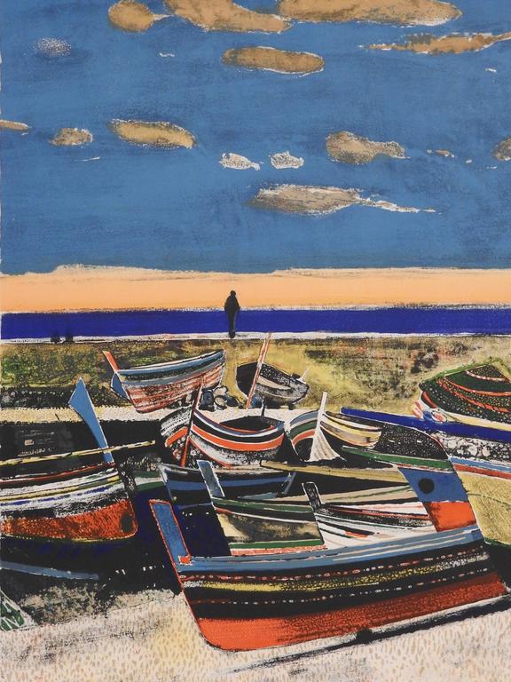 Les bateaux de Cefalu (Sicily)