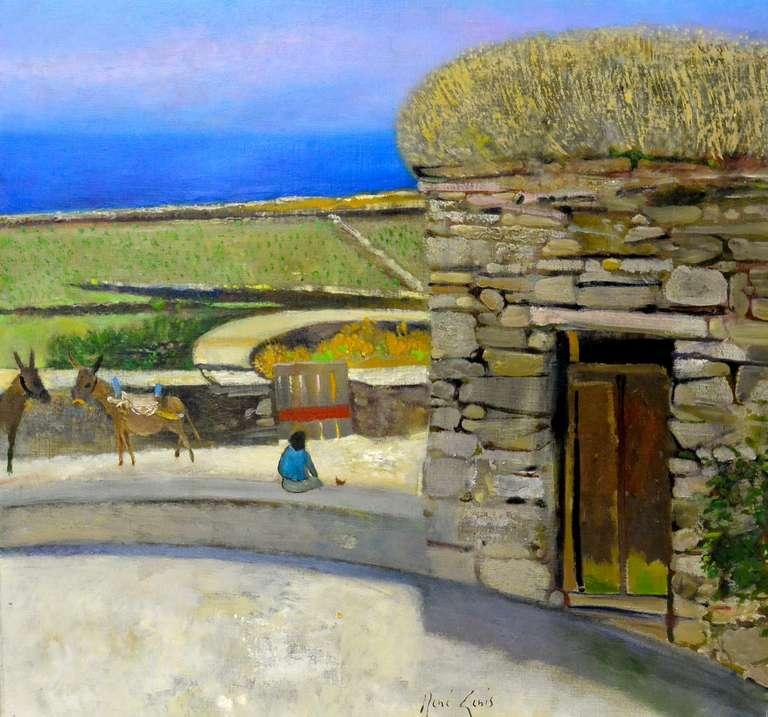 L'aire aux deux ânons (Folegandros-Grece)