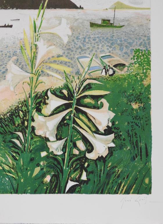 Lys de Patmos - Print by René Genis