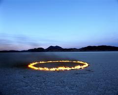 """""""Círculo de fuego en el desierto"""""""