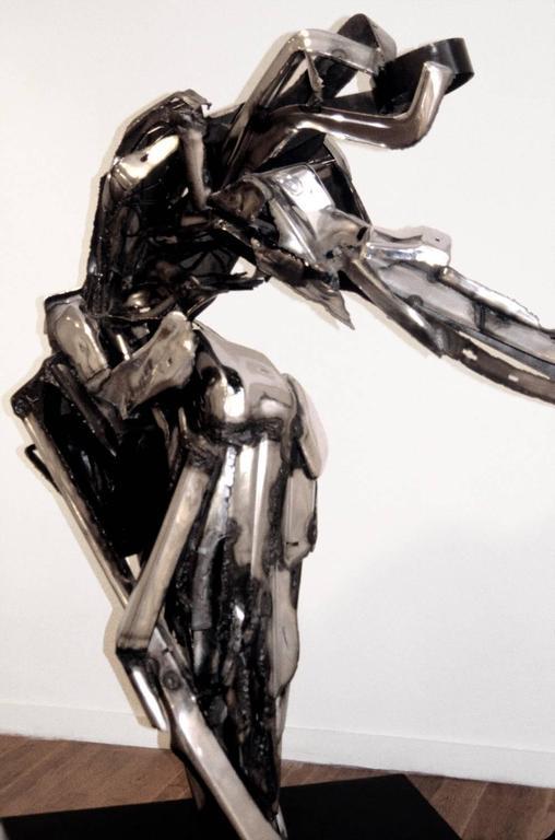 Dancer II Large Abstract Metal Sculpture