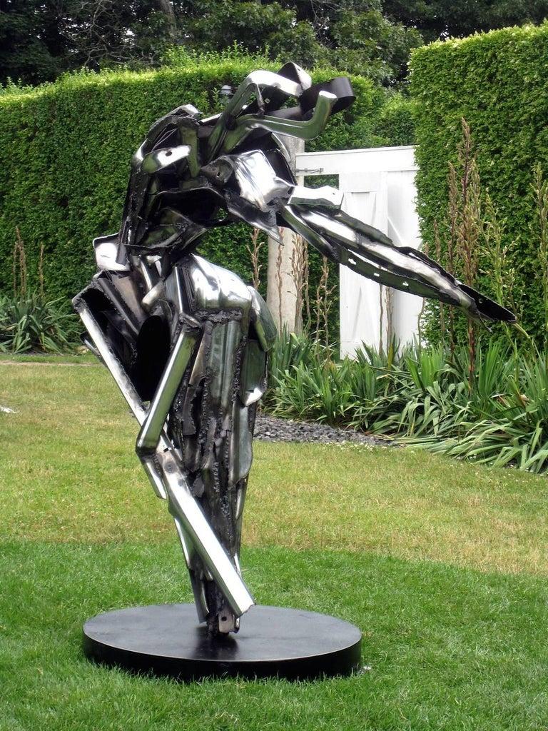 Dancer II Large Abstract Metal Sculpture 1