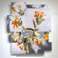 """""""Josouka"""", Mike Sagato, Oil Painting on Aluminum, 2014"""
