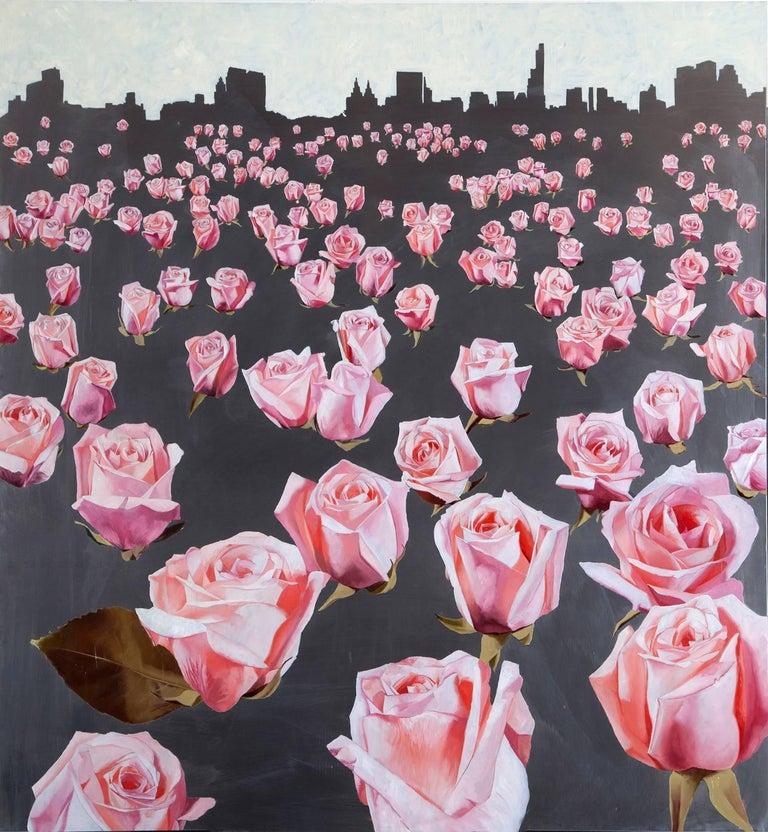 """Pareidolia"", Mike Sagato, Oil Painting on Aluminum, 2014 - Mixed Media Art by Mike Sagato"