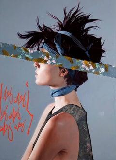 """Street Spirit"", Mike Sagato, Oil Painting on Plexi-Glass in Resin, 2014"