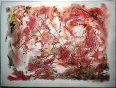 """""""Rhubarb"""", Contemporary, Metal, Abstract Wall Relief Sculpture"""