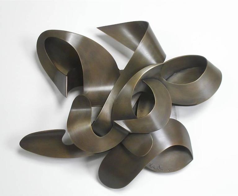 Sundown Metal Sculpture Wall Releif