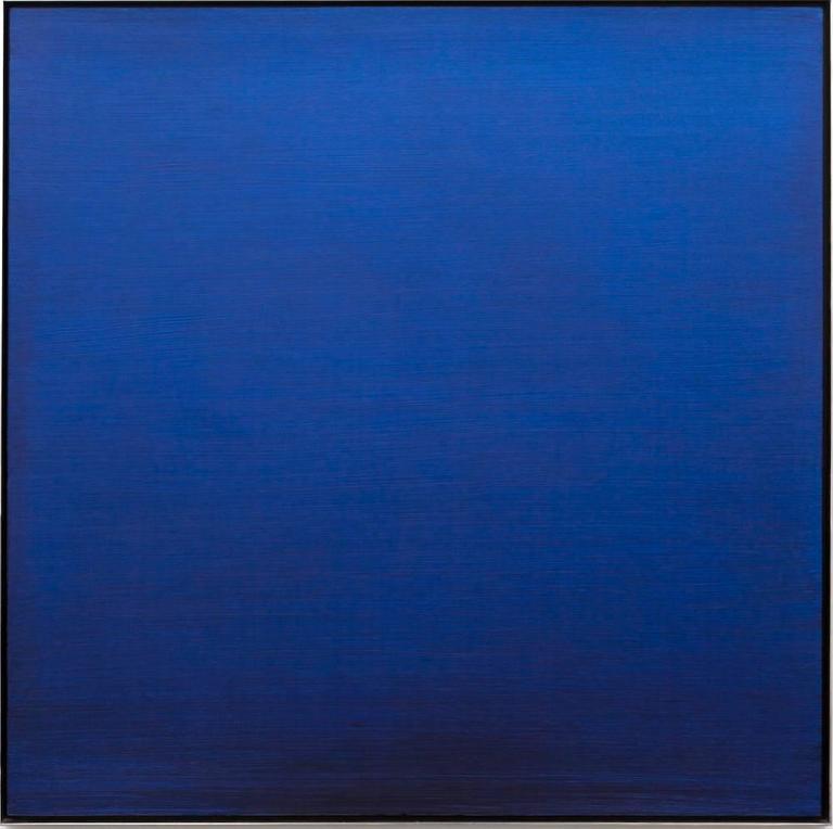 Joe Goode Abstract Painting - Ocean Blue #122