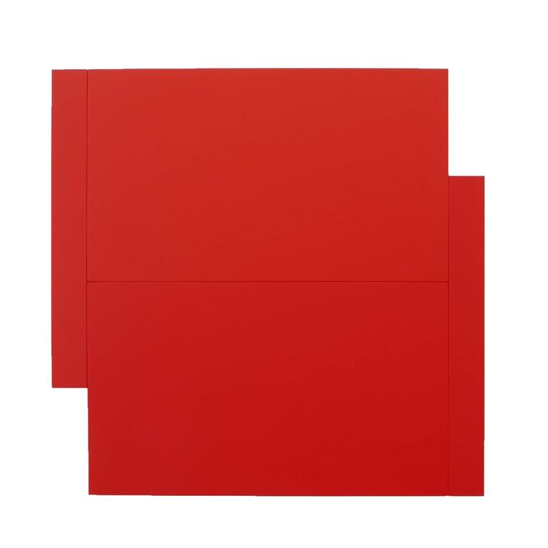 Scot Heywood Abstract Painting - Shift - Red on Red
