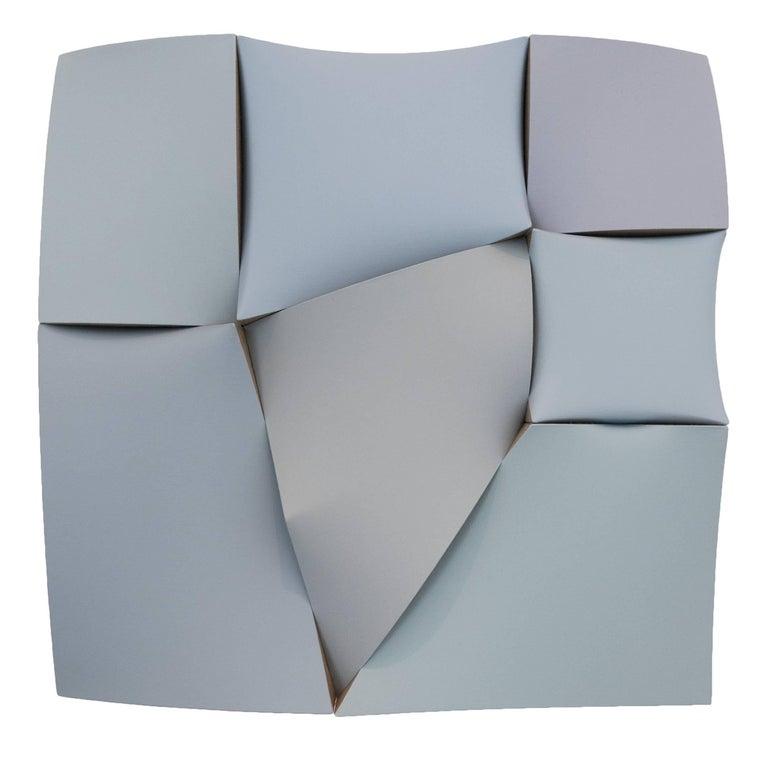 Jan Maarten Voskuil Abstract Painting - Non-Fit Broken Greys