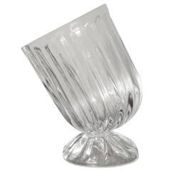 Slanted Crystal Wine Chiller