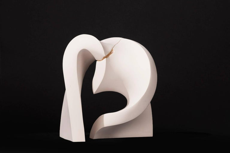 Convoluted  - Sculpture by Stephanie Bachiero